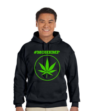 #MOHEMP Pullover Pot Leaf/Smoke Weed Every Day