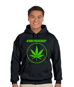 #MOHEMP Pullover Pot Leaf/Blaze One For The Nation