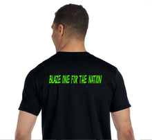 #MOHEMP short sleeve tshirt Pot Leaf/Blaze One For The Nation