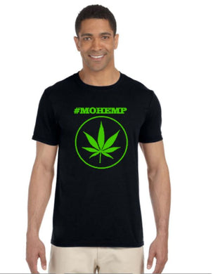 #MOHEMP short sleeve tshirt Pot Leaf/420 Friendly