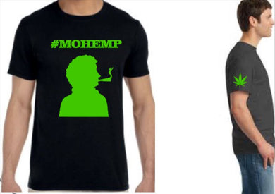 #MOHEMP Short Sleeve Silhouette/Wake And Bake Time