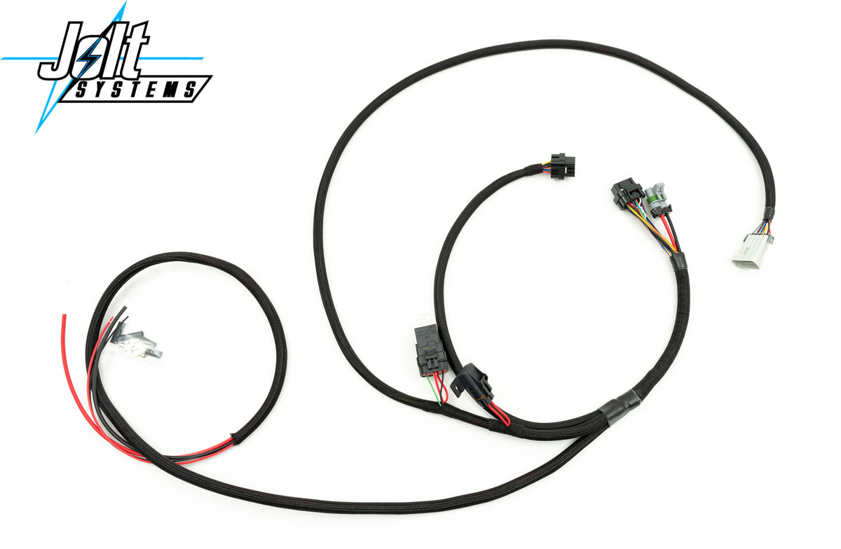 Plug-and-Play Driver Module Harness Kit for Staged