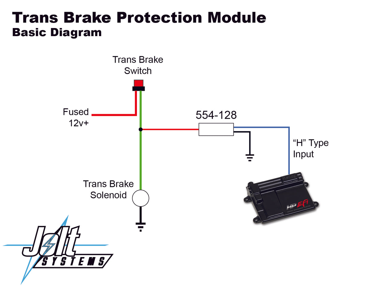 Trans Brake Input Protection Module