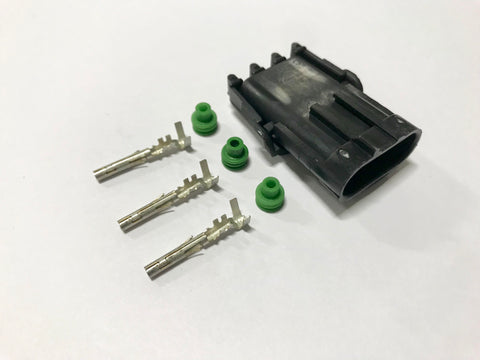 Connector Kit - Weatherpack 3 Pin Shroud TPS Hall Effect