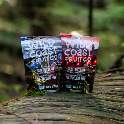 Dark Chocolate covered whole berries - Taster Pack