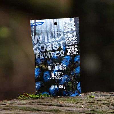 Wild Coast Dried Whole Blueberries