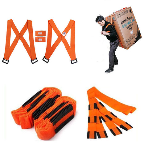 Lifting Moving Strap Furniture Transport Belt Shoulder Wrist Straps For Lifting Bulky Items