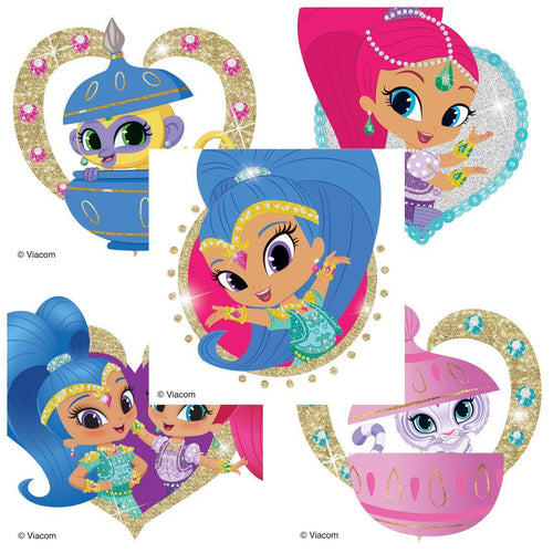 Shimmer & Shine Glitter Stickers