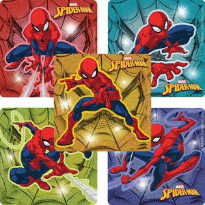 Spider-Man Glitter Stickers