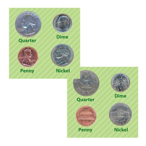 Realistic Money Foil Stickers