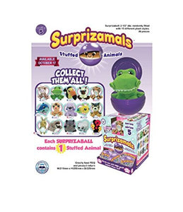 Surprizamals Series 5- 4 Pack Mystery Ball with Plush Toy