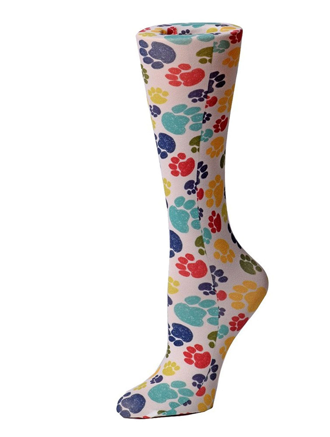Cutieful Therapeutic Compression Socks - Paw Prints