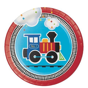 All Aboard Train Birthday Party Kit