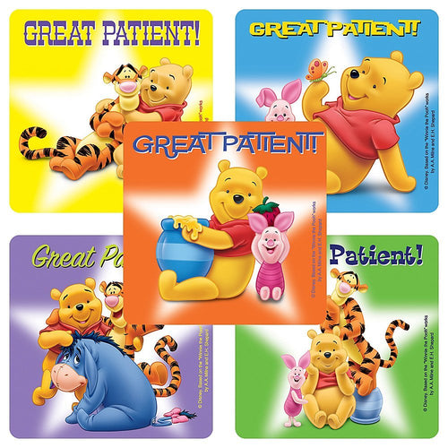 Disney Pooh Bear Stickers
