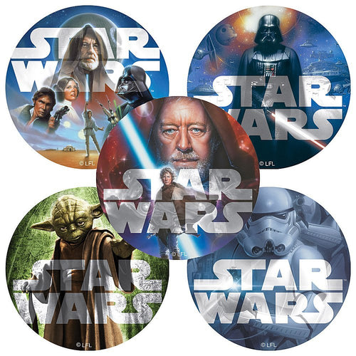 Star Wars Classic Stickers - 100 Per Pack