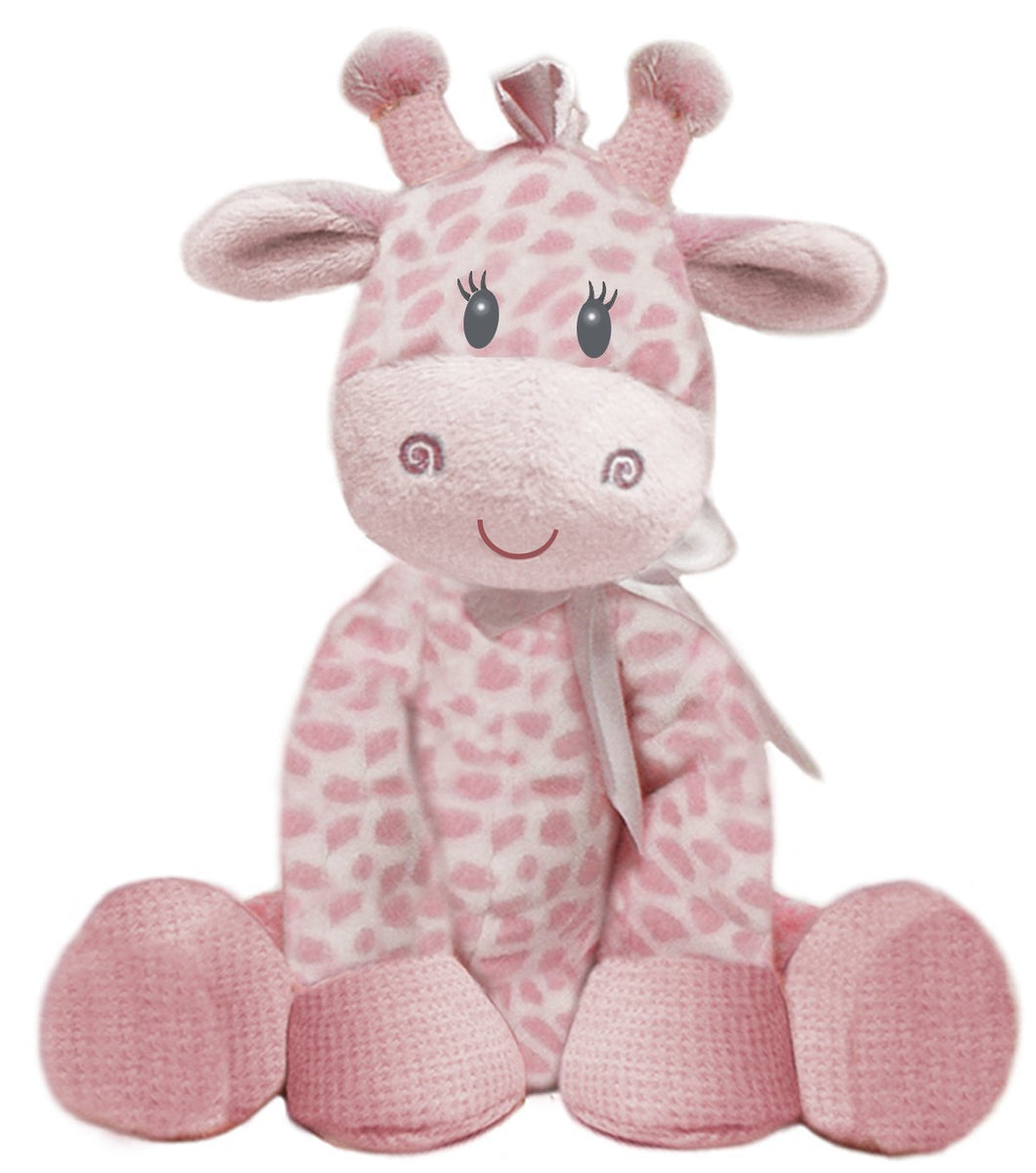 Pink Jingles Giraffe by First & Main