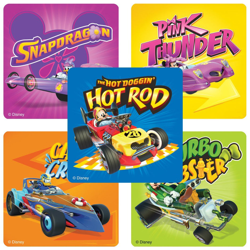 Mickey and the Roadster Racers Stickers