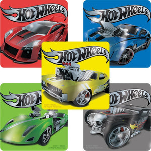 Hot Wheels Foil Stickers