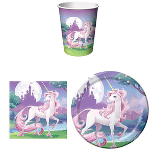 Unicorn Birthday Party Supplies Set