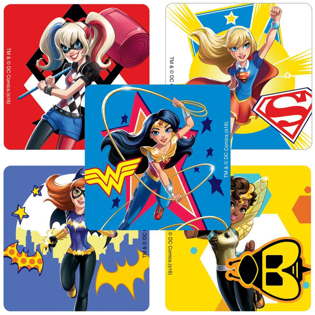 DC Super Hero Girls Stickers