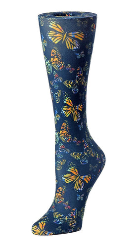 Cutieful Therapeutic Compression Socks - Black Butterfly