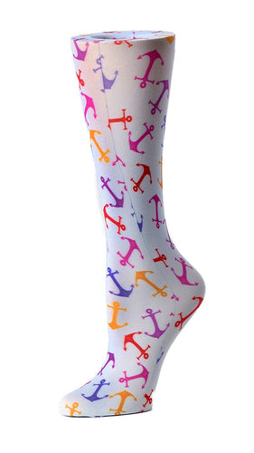 Cutieful Therapeutic Compression Socks - Anchors