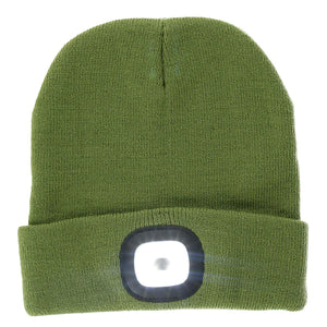 Night Scout Rechargeable LED Beanie