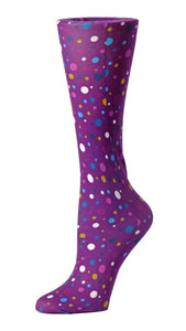 Cutieful Therapeutic Compression Socks - Abstract Polk Dot