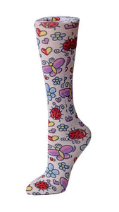 Cutieful Therapeutic Compression Socks - Bugs