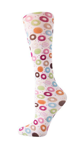 Cutieful Therapeutic Compression Socks - Donuts