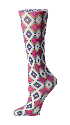 Cutieful Therapeutic Compression Socks - Geometric Aztec