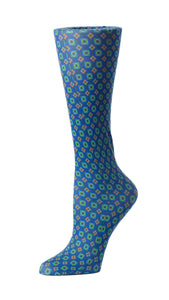 Cutieful Therapeutic Compression Socks - Geometric Folk