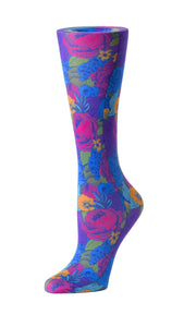 Cutieful Therapeutic Compression Socks - Vintage Flowers