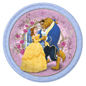 Beauty and the Beast Dinner Plates