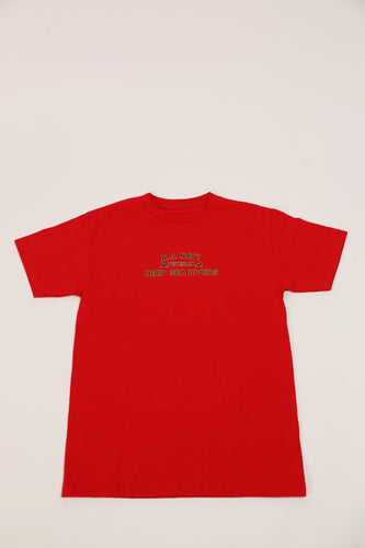 NJ Navy Tee-Red