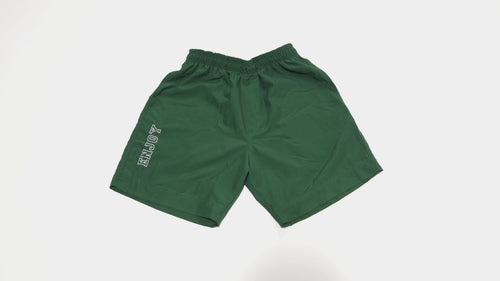 ENJOY Varsity Shorts-Green