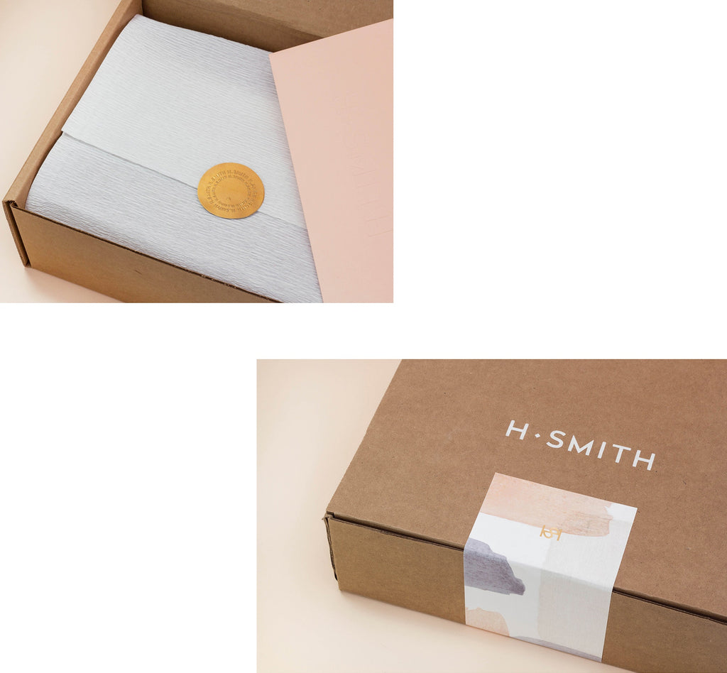 H. SMITH Home and Lifestyle Shop Packaging