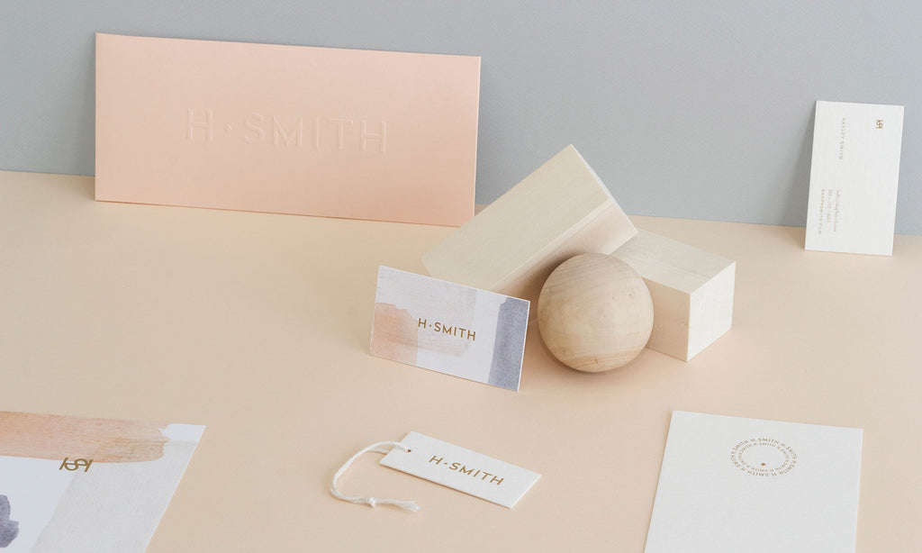 H. SMITH Home & Lifestyle Online Shop Branding