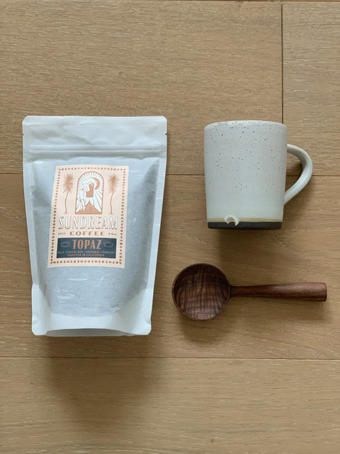 The Coffee Drinker Bundle - Natural Simple Mug