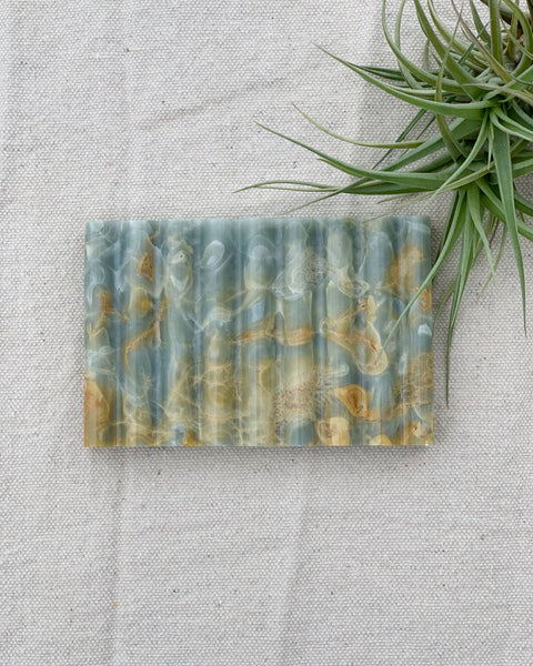 Blue Marble Soap Dish