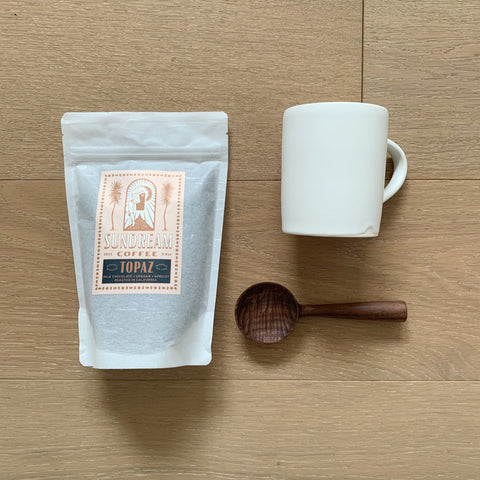 The Coffee Drinker Bundle - White Simple Mug