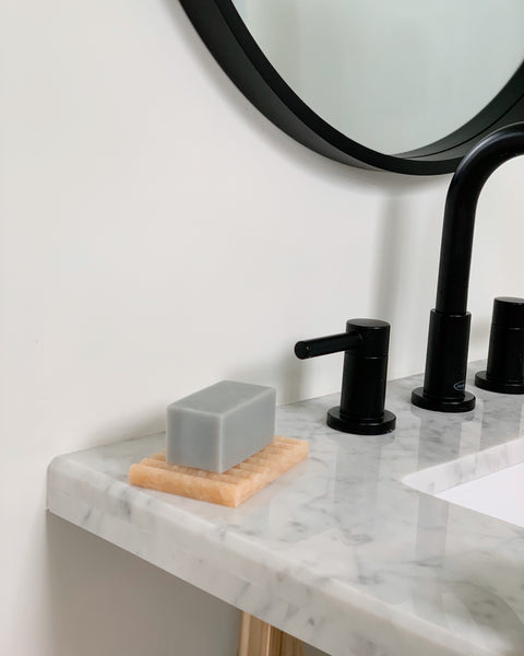 Binu Binu Soap Bar and Marble Dish | H. SMITH