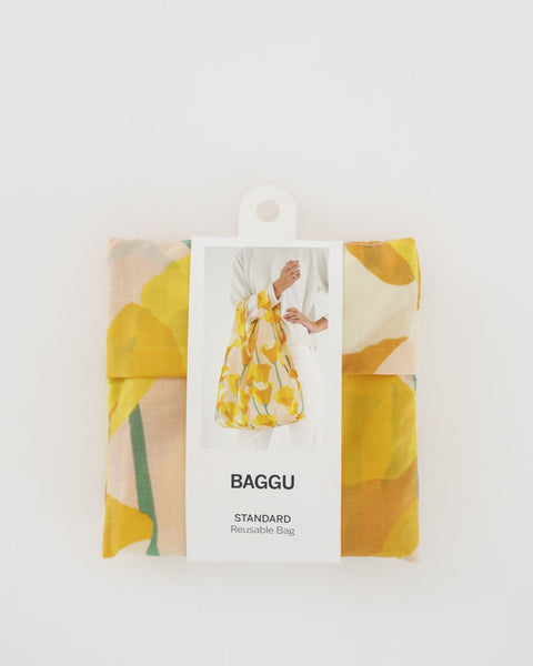 Packaged Golden Poppy Standard Baggu Bag
