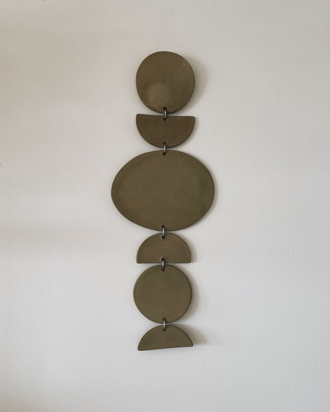 "18"" Ceramic Wall Hanging by Jenna Leigh Ceramics"
