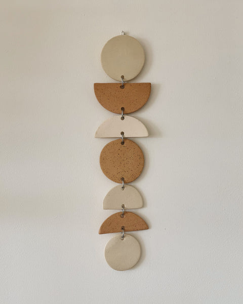 "15"" Ceramic Wall Hanging by Jenna Leigh Ceramics"