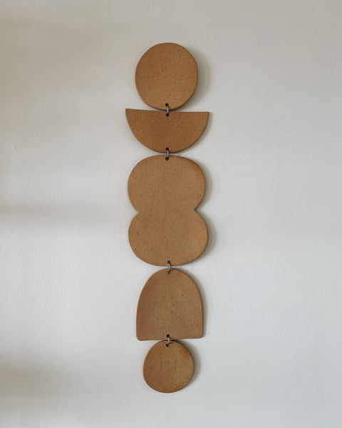 "24"" Ceramic Wall Hanging by Jenna Leigh Ceramics"