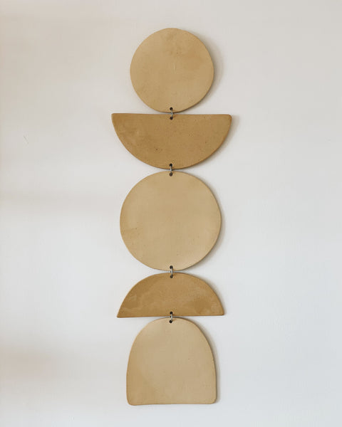 "26"" Large Ceramic Wall Hanging by Jenna Leigh Ceramics"