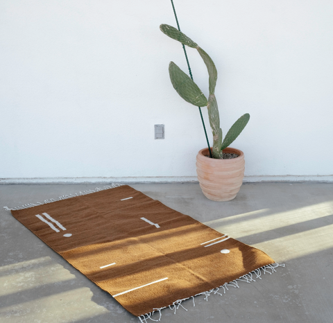 The Line Dot Rug by Kesslyr Dean