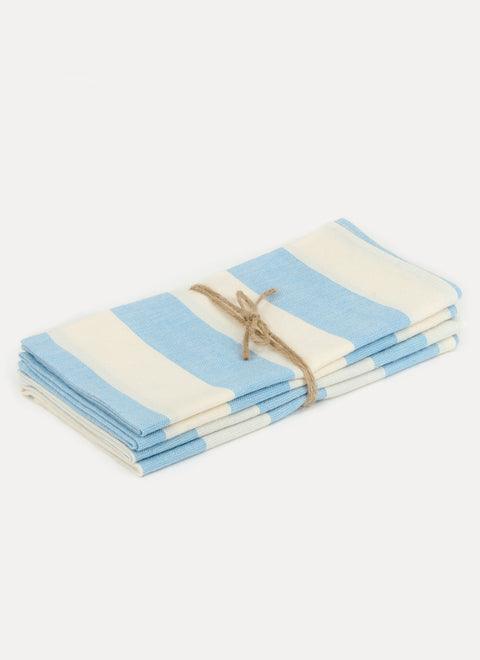 Milos Beach Napkin Set by Heather Taylor Home
