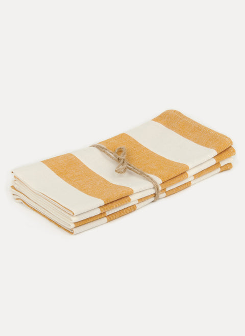 Milos Goldenrod Napkin Set by Heather Taylor Home